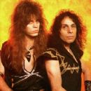 Craig Goldy with Ronnie James Dio