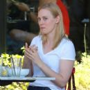 Deborah Ann Woll out for lunch in Hollywood - 454 x 681