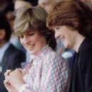 Lady Diana Spencer attended the women's singles final at Wimbledon, between Chris Evert Lloyd and Hana Mandlikova - 3 July 1981 - 454 x 698