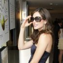 Emmy Rossum - Launch Party For The Vogue Eyewear / CFDA Capsule Collection At Sunglass Hut - Times Square On June 22, 2010 In New York City