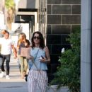 'The Mentalist' actress Robin Tunney is spotted out walking her dog in Beverly Hills, California on August 18. 2015 - 438 x 600