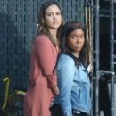Jessica Alba – Filming the untitled 'Bad Boys' spinoff pilot in Los Angeles