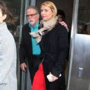 Claire Danes at Howard Stern Show in New York