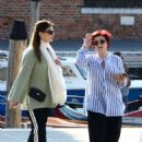 Sharon and Aimee Osbourne out in Venice - 454 x 638