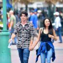 Janel Parrish Disneyland In Anaheim
