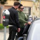 Pete Wentz is spotted out for lunch in Studio City, California with a friend on January 9, 2017 - 446 x 600