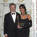 Steven Spielberg and David Lean's wife at the 12th Annual Golden Laurel Awards