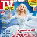 Helena Bonham Carter - TV Mini Magazine Cover [Czech Republic] (21 March 2015)