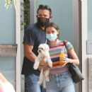 Ben Affleck and Ana DeArmas in Venice