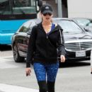 Camilla Belle – Heads to yoga in Beverly Hills