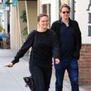 Emily Deschanel out for lunch in Beverly Hills - 454 x 681