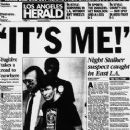 Los Angeles Herald - 1985, Richard Ramirez Caught - 249 x 400