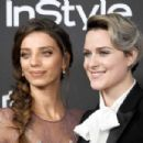 Angela Sarafyan and Evan Rachel Wood - Warner Bros. Pictures and InStyle Host 18th Annual Post-Golden Globes Party - Arrivals - 454 x 303