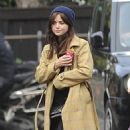 Jenna Coleman – On the street of London