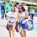 Jessica Simpson in Shorts at Disneyland - 454 x 590
