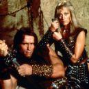 Sandahl Bergman, Arnold Schwarzenegger