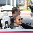 Jennifer Lopez at the Soho House in Malibu