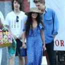 Lucas Jagger with Vanessa Hudgens and Austin Butler - Portofino, Italy