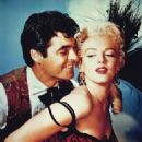 Rory Calhoun and Marilyn Monroe