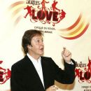 Paul McCartney, of the Beatles, arrives at the gala premiere of 'The Beatles LOVE by Cirque du Soleil' at the Mirage Hotel & Casino June 30, 2006 in Las Vegas, Nevada