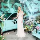 Elle Fanning – Tiffany Paper Flowers Event in New York City