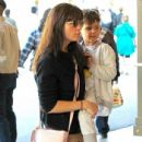 Selma Blair spotted taking her son to see the new movie 'Baby Boss' at the theater at The Grove in Los Angeles,  California March 30th, 2017 - 435 x 600