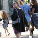 Lucy Hale  spotted out shopping at The Grove in Los Angeles, California on March 31, 2016