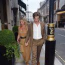 Annabelle Wallis on date night in London - 454 x 629