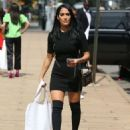 Nikki and Brie Bella – Outside Lincoln Center in NYC