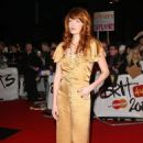 Florence Welch arrives at the Brit Awards
