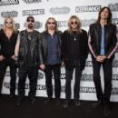 Judas Priest attend the Relentless Energy Drink Kerrang! awards at the Troxy on June 11, 2015 in London, England
