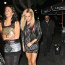 Ashley Tisdale: Leaving Lexington Social House