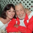 Anjelica with her father John