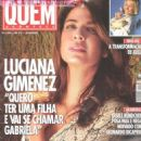 Luciana Gimenez poses for Quem Acontece magazine in 2004 - 454 x 624