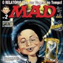 Heroes - MAD Magazine Cover [Brazil] (April 2008)