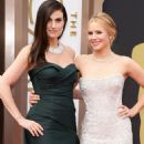 Idina Menzel and Kristen Bell At The 86th Annual Academy Awards - Arrivals (2014)
