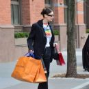 Bella Hadid – Shopping at Louis Vuitton in NYC