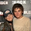 Kaley Cuoco and Kevin Zegers At Kid Rock's After-Party for the 2003 American Music Awards Forbidden