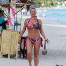 Kerry Katona in Bikini on holiday in Thailand - 454 x 525