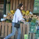 Elizabeth Olsen – Shopping at Whole Foods in LA