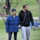 Margot Robbie – Takes her dogs to a park in Los Angeles