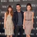 """Total Recall"" at the photo call at the Four Seasons Hotel in Los Angeles (July 28)"
