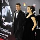 Marion Cotillard & Brad Pitt : 'Allied' - Madrid Premiere - 399 x 600