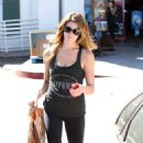 Ashley Greene At A Gym In La