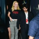 Sophie Turner and Joe Jonas –  Leaving Craig's Restaurant in West Hollywood