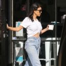 Kourtney Kardashian in Jeans – Out in Beverly Hills