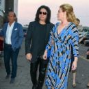 Gene Simmons And Shannon Tweed Are Seen Outside Avalon - 429 x 600