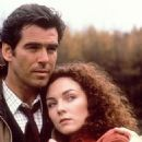 Pierce Brosnan and Aislín McGuckin in The Nephew (1998) - 454 x 697