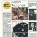 Vyacheslav Tikhonov - Film Magazine Pictorial [Poland] (8 September 1985) - 454 x 641