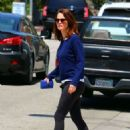 Robin Tunney in Tights out in Beverly Hills - 454 x 624